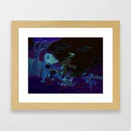 finished piece Framed Art Print