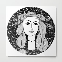 Picasso - War and Peace Metal Print