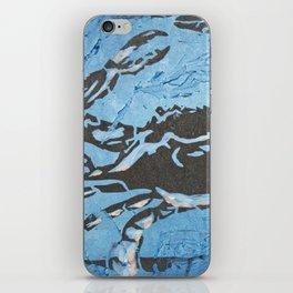 Fresh Blue Crabs iPhone Skin