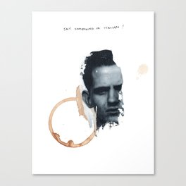 Wonton Scrobble Canvas Print