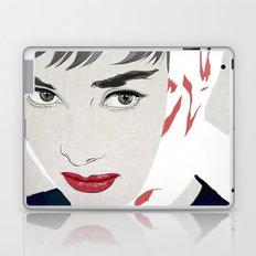 Audrey 005 Laptop & iPad Skin