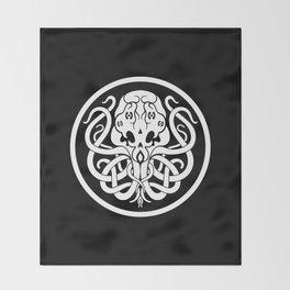 Cthulhu Symbol Throw Blanket