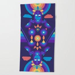 Rainbow Warrior Beach Towel