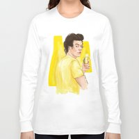coconutwishes Long Sleeve T-shirts featuring Harry is all yellow by Coconut Wishes