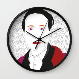 """Marcel Duchamp"" Wall Clock"
