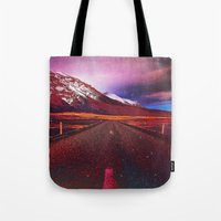 verse Tote Bags featuring Verse II by Daniel Montero