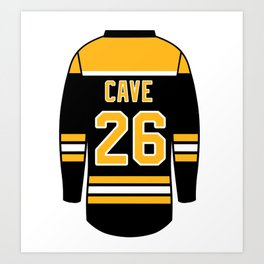 Colby Cave Jersey Art Print