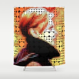 "David Bowie ""Low"" Shower Curtain"