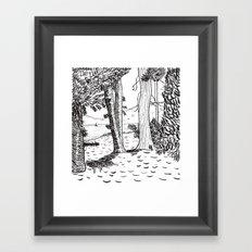 Day Four - Lake Tahoe Framed Art Print