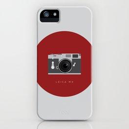 Leica M3 iPhone Case