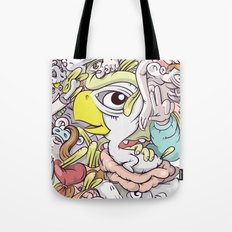 Thinking Too Much Tote Bag