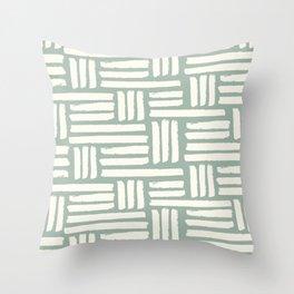 Basket Weave | The Koze 2018 Spring Collection Throw Pillow