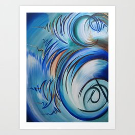 Earth From Above Art Print