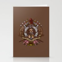 murray Stationery Cards featuring Murray crest by Rodrigo Ferreira