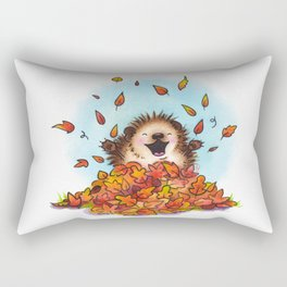 Fall Hedgie 2 Rectangular Pillow