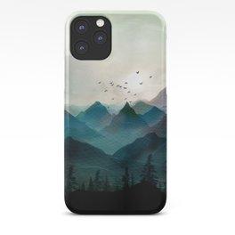 Mountain Sunrise II iPhone Case