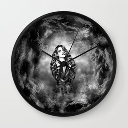 Lucy In the Sky Wall Clock