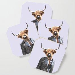 Cow Girl Coaster
