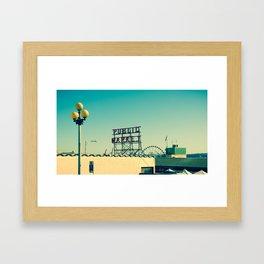 wider public... Framed Art Print