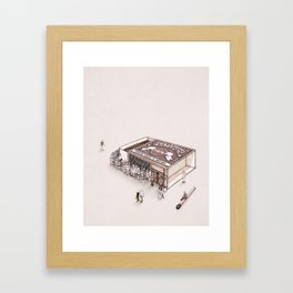 Matchbox Club Framed Art Print