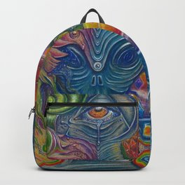 """The Strange Obligation of the Three-Faced Moderator"" Backpack"