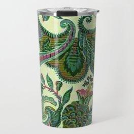 Eleganza Paisley Floral Travel Mug
