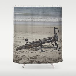 Lost Bicycle Shower Curtain