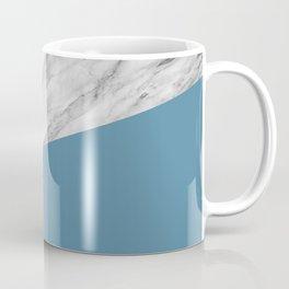 Marble and Niagara Color Coffee Mug