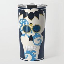 Mamá Sugar Skull Travel Mug