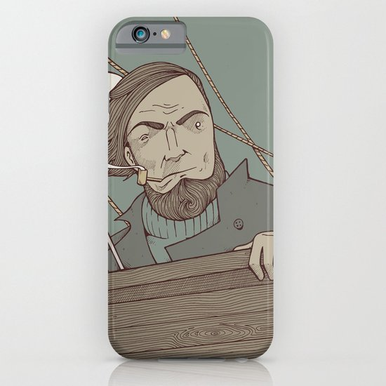 Ahab and the Whale iPhone & iPod Case