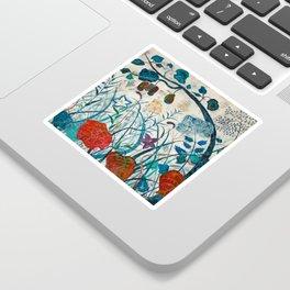 nature【Japanese painting】 Sticker
