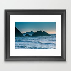 On a Saturday in Pacifica... Framed Art Print