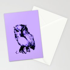 Owl Color Stationery Cards