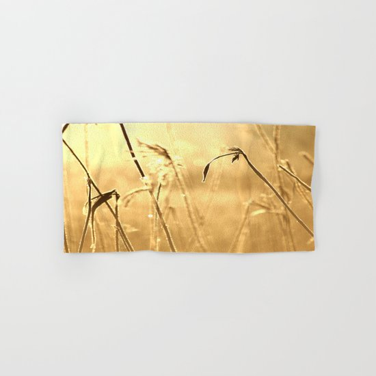 Foggy Morning With Golden Tones  Hand & Bath Towel