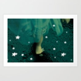 Alice's Escapades ~ Alice and the Stars Art Print