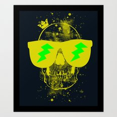 Fresh To Death Art Print