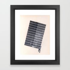 Weight Framed Art Print