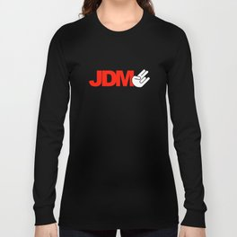 JDM shocker v5 HQvector Long Sleeve T-shirt