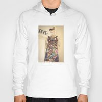 vogue Hoodies featuring Vogue by Carol Knudsen Photographic Artist