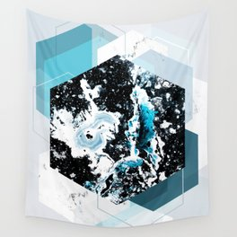 Geometric Textures 4 Wall Tapestry