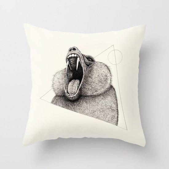'Wildlife Analysis III' Throw Pillow