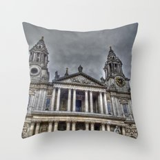 St. Paul's Cathedral, London Throw Pillow