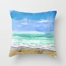 Pipers Throw Pillow