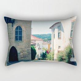 Obidos, Portugal(RR178) Analog 6x6 Kodal Ektar 100 Rectangular Pillow