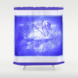 The Song of The Swan Shower Curtain
