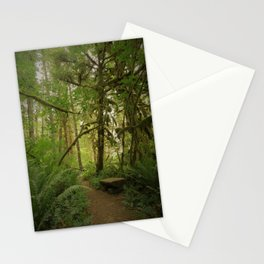 Bench of Serenity in the North Cascades Stationery Cards