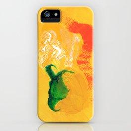 Portrait in Yellow  iPhone Case