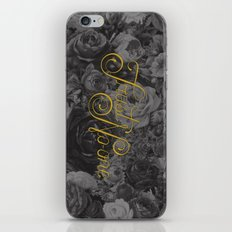 Trust No-one Lettering iPhone & iPod Skin