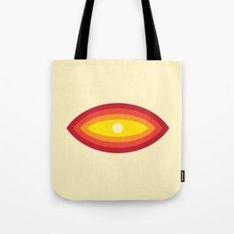 Vintage 70's Rainbow Eye Tote Bag
