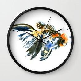 Cute Aquarium Fish Wall Clock